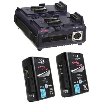 Rent IDX 150 V-Mount Battery Kit - Two batteries, one charger
