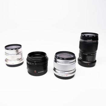 Rent Micro Four Thirds Prime Lens Bundle