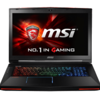 Rent MSI GT725 Dominator Pro – Gaming Laptop (upgraded)