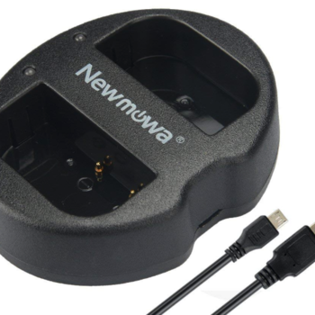 Rent Newmowa DMW-BLF19 Battery Dual USB Charger
