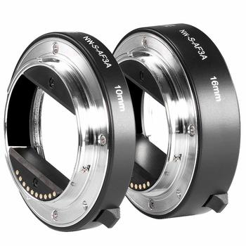 Rent Neewer Metal AF Auto-Focus Macro Extension Tube Set 10mm&16mm E-Mount