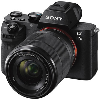 Rent Sony Alpha a7 ii - GRAND CHEAPO KIT w/ 3 lenses, monitor, tripod, on-camera led