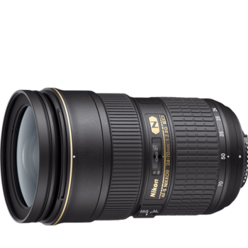 Rent Nikon 24-70mm F2.8G ED zoom lens(new)