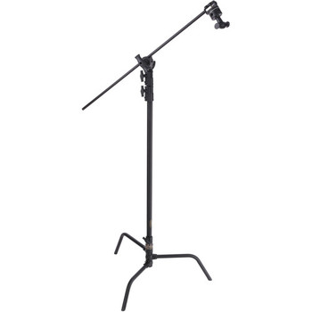 Rent C-Stand with Turtle Base - 10.75' (Black)