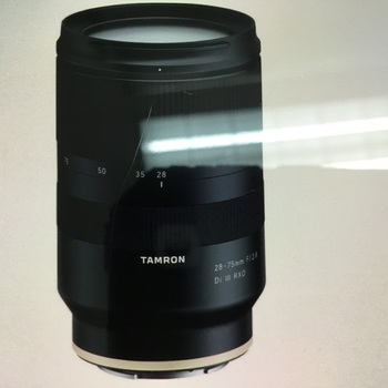 Rent Tamron 28-75mm f/2.8 DI iii RXD zoom lens for Sony E mount