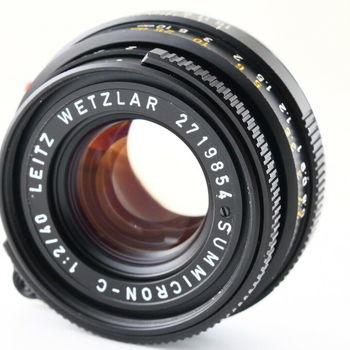 Rent 40mm f/2 minolta rokkor Leica lens