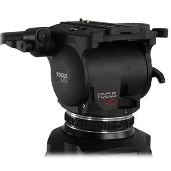 Rent Cartoni Focus HD Fluid Head & Two-Stage 3-Tube Aluminum-Alloy Tripod