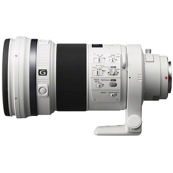 Rent Sony 300mm f/2.8 G SSM II Lens w/ A-Mount to E-Mount Lens Adapter