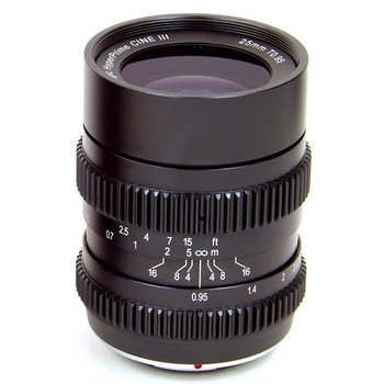 Rent  SLR MAGIC 25mm T0.95 Hyperprime Cine III Lens