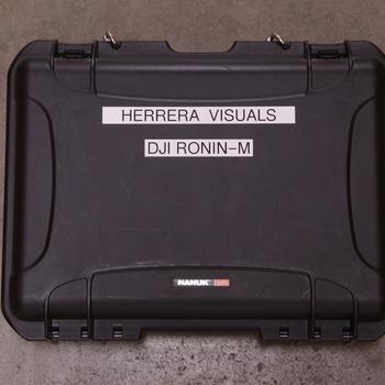 Rent DJI Ronin-M Gimbal (Full Kit) Waterproof Hard case included