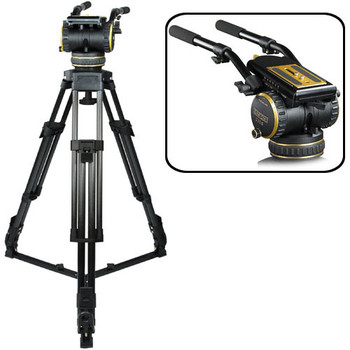 Rent Cartoni C20S 100mm Fluid Head with Tripod
