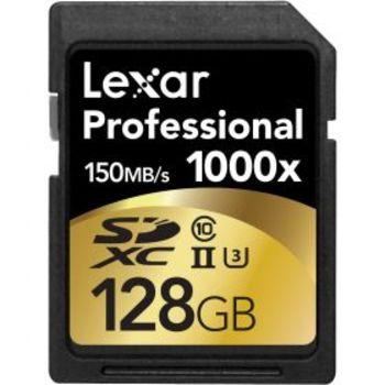 Rent 128GB Professional 1000x UHS-II SDXC Memory Card