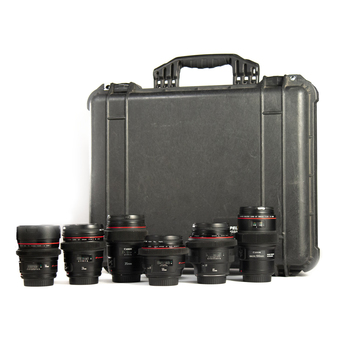 Rent 6 Canon EF Prime Lens Package