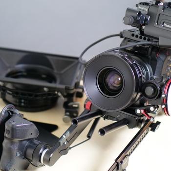 Rent EVA 1 Cine-Package  w/ Zeiss CP.2 SuperSpeed 35mm Cine Lens  + Shoulder Rig and More