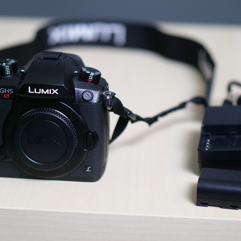 Rent Panasonic Lumix GH5S - Body Only - with Battery/Charger