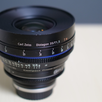 Rent Zeiss Cine Lens CP.2 Super Speed 35mm/1.5