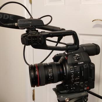 Rent Canon C100 mk ii Doc Kit (with audio)