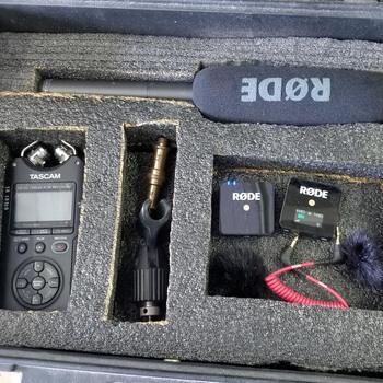 Rent Basic Audio Kit (Rode Wireless Go, Tascam DR-10, Rode NTG2)