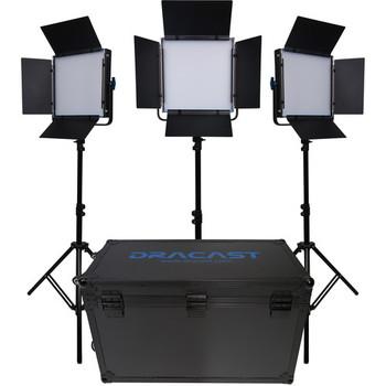 Rent Dracast LED 1000 3 Light Kit (w/ stands)