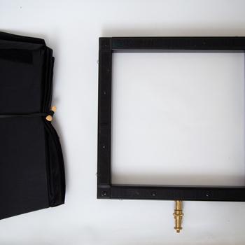Rent  Aputure 120d Mark II and Westcott Bi-Color 1x1 Flex Light w/ stands - Portable Light Kit