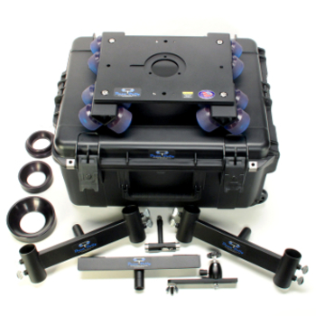 Rent Dana Dolly Portable Dolly System with 4 & 8 ft Speed Rails & 2 Matthews Slider Stands