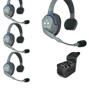 Rent Hands free, no beltpack (4) Person Headset Kit