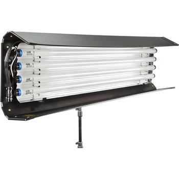 Rent 4x Kino Flo 4' 4Bank Lighting Kit with Ballasts, Lamps, Lolipop Mounts, and Grip Heads