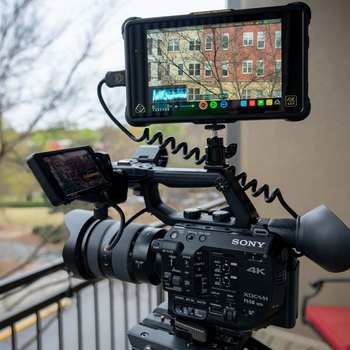 Rent Sony FS5 II package with 24-70 2.8 GM Lens & Atomos Recorder