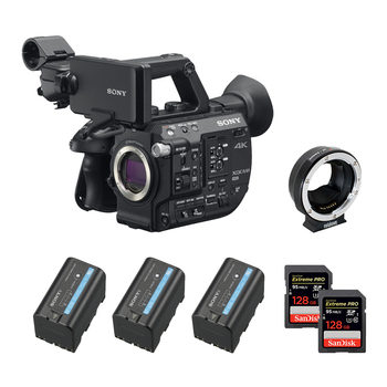 Rent Sony FS5 II (w/ Cards, Batteries, EF Mount)