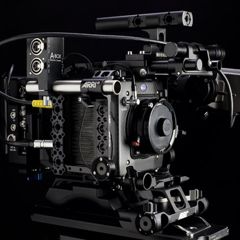 Rent Alexa Mini Standard Kit (all licenses) including ARRI shoulder rig, tripod system,  power and storage
