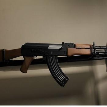 Rent Prop Gun - AK47 Airsoft Rifle