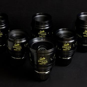 Rent Alexa Mini Cooke Kit (all licenses) including set of 6 Cooke MiniS4/i lenses (18, 25, 32, 50, 75,100)