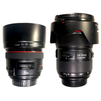 Rent Canon Canon 5D Mark III + Lens Kit