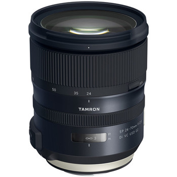 Rent Tamron SP 24-70mm f/2.8 Di VC USD G2 for Canon EF