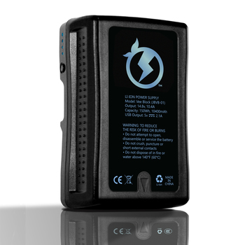 Rent V-Mount Battery High Capacity 150Wh and Charger