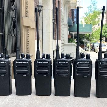 Rent Motorola CP200d Walkie Talkie Radios Set of Six 6 FCC Licensed