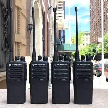 Rent Motorola CP200d Walkie Talkie Set of Four (4) FCC Licensed