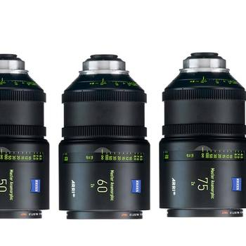Rent Arri/Zeiss Master Anamorphic Set of 4 Lenses