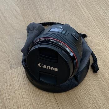 Rent Canon EF 50mm f/1.2 L USM Lens