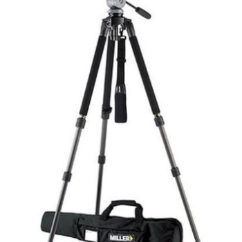 Rent 1643 Miller Solo DV Alloy Tripod with DS-20 Fluid