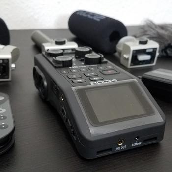 Rent Zoom H6 Field Recorder + Shotgun Mic attachment