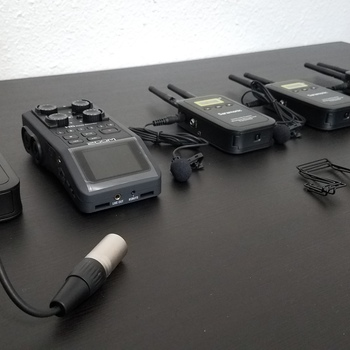 Rent Zoom H6 + VmicLink5 Wireless Microphone System