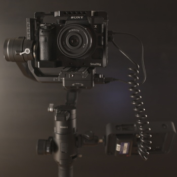Rent DJI Ronin-S Package with Sony A7sii and SmallHD Monitor