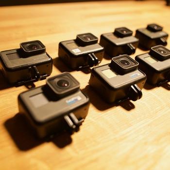 Rent 8x GoPro HERO - Eight Pack (2xHERO7, 3xHERO6, 3xHERO5)