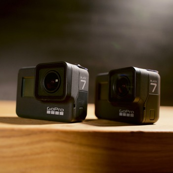 Rent 2x GoPro HERO7 Black - Two Pack - All Accessories Included