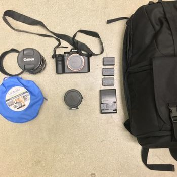 Rent SONY A7sii Camera Kit