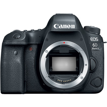 Rent Canon EOS 6D Mark II + 3 Batteries & 128GB SD Card
