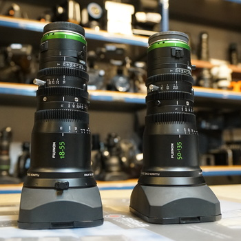 Rent Fujinon MK18-55 & MK50-135 bundle
