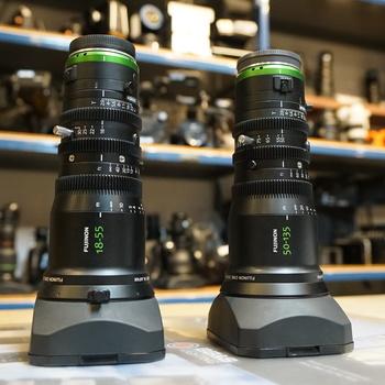 Rent Fujinon MK18-55 & MK50-135 bundle