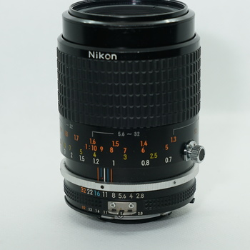 Rent Nikkor 105mm F/2.8 MACRO  - Nikon Manual Focus Lens AIS with adapter to Sony E mount